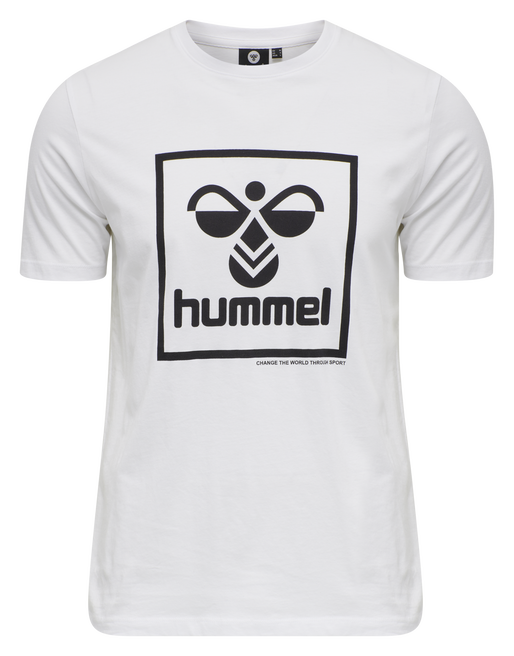 hmlISAM T-SHIRT, WHITE, packshot