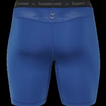 HUMMEL FIRST PERFORMANCE KIDS TIGHT SHORTS, TRUE BLUE, packshot