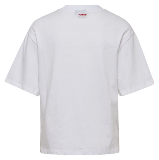 hmlAVA T-SHIRT S/S, WHITE, packshot