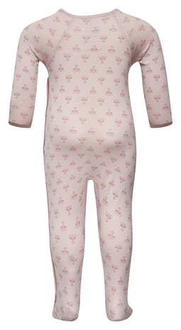 HMLBABY BEE BODYSUIT L/S, BURNISHED LILAC, packshot