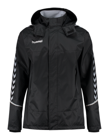 AUTH. CHARGE ALL-WEATHER JACKET, BLACK/BLACK, packshot