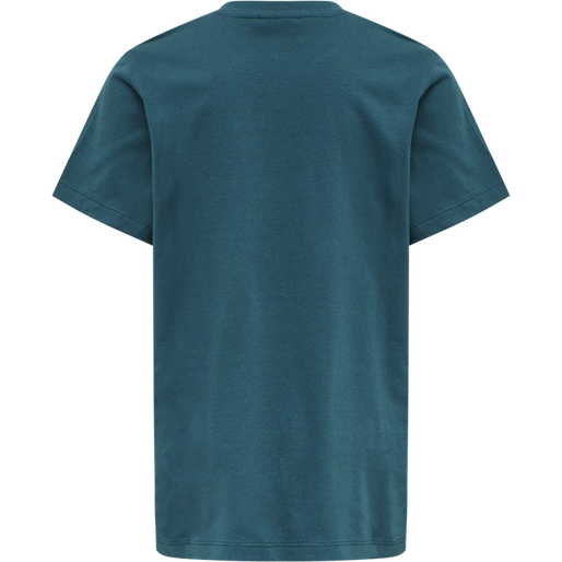 hmlTRES TEE SHIRT S/S, BLUE CORAL, packshot