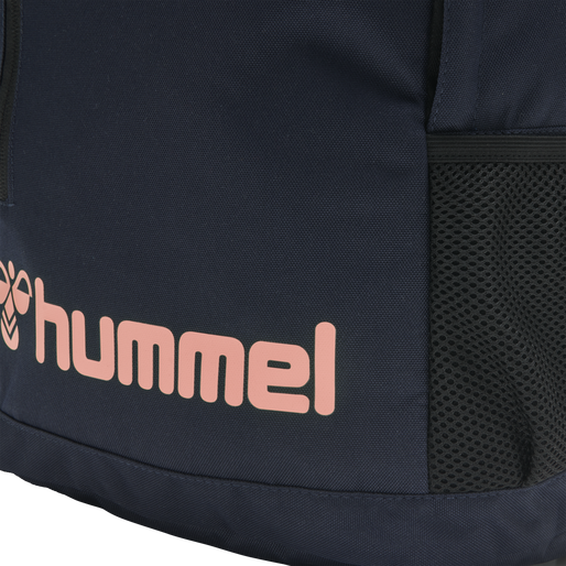 hmlACTION BACK BAG, MARINE/DUSTY PINK, packshot