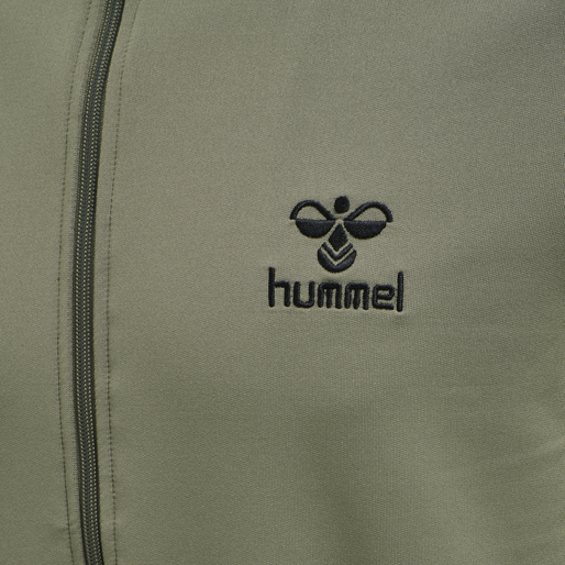 hmlNATHAN 2.0 ZIP JACKET, VETIVER, packshot