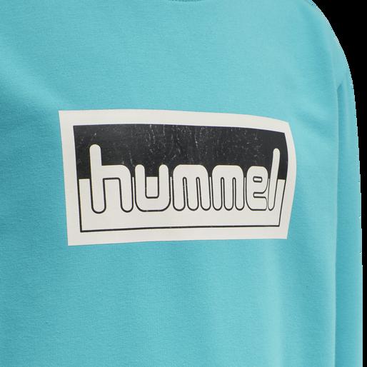 hmlMONO SWEATSHIRT, SCUBA BLUE, packshot