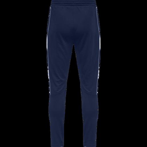 hmlAMOS TAPERED PANTS, MEDIEVAL BLUE, packshot