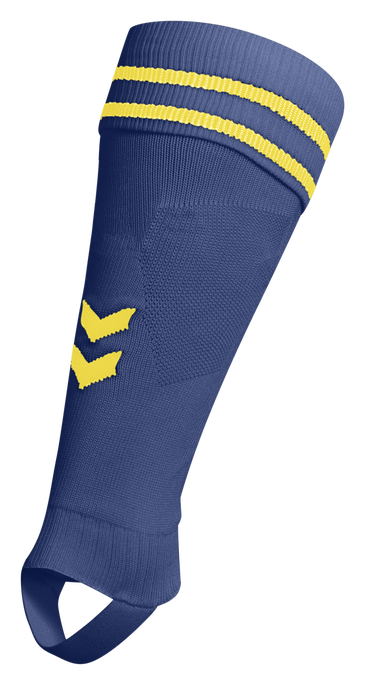 ELEMENT FOOTBALL SOCK FOOTLESS, TRUE BLUE/SPORTS YELLOW, packshot