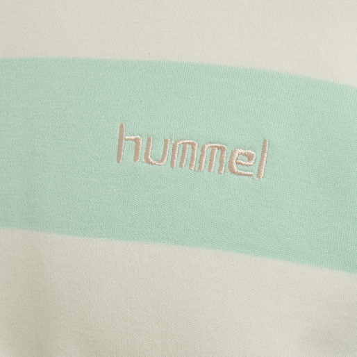 hmlCOLD HAWAII LOOSE SWEATSHIRT, ICE GREEN, packshot
