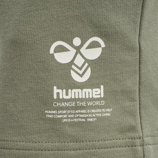 hmlSKYLAR SHORTS, VETIVER, packshot