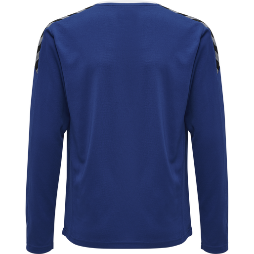 hmlAUTHENTIC KIDS POLY JERSEY L/S, TRUE BLUE, packshot