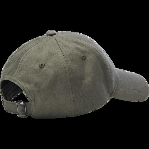 HMLRUBY CAP, DEEP LICHEN GREEN, packshot