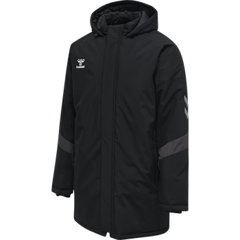 hmlLEAD BENCH JACKET, BLACK, packshot