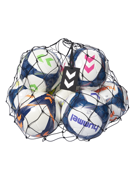 HUMMEL BALL NET, BLACK/SILVER, packshot