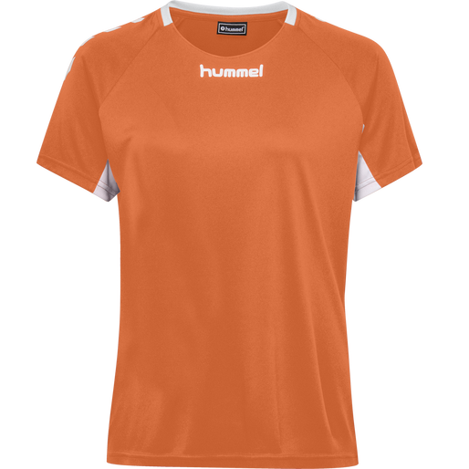 CORE TEAM JERSEY WOMAN S/S, TANGERINE, packshot