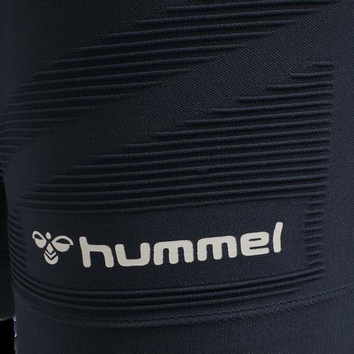 hmlCUBE SEAMLESS TIGHT SHORTS, BLUE NIGHTS, packshot