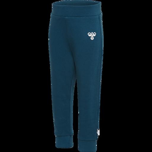 hmlARIN CREWSUIT, MAJOLICA BLUE, packshot
