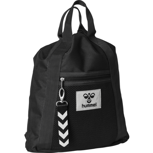 hmlHIPHOP GYM BAG, BLACK, packshot