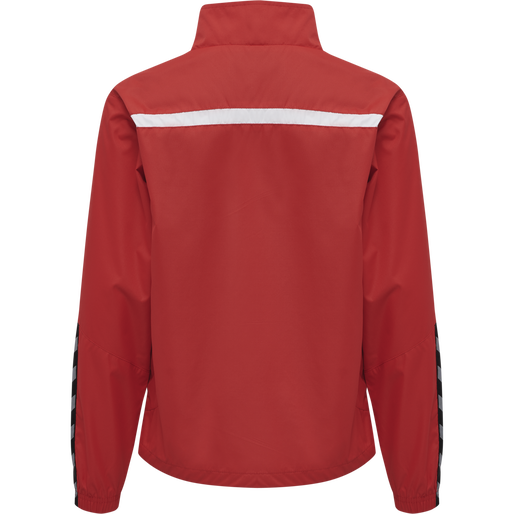 hmlAUTHENTIC KIDS TRAINING JACKET, TRUE RED, packshot