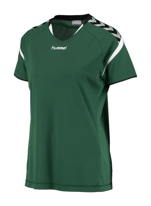 AUTHENTIC CHARGE SS POLY JERSEY WOMAN, EVERGREEN, packshot