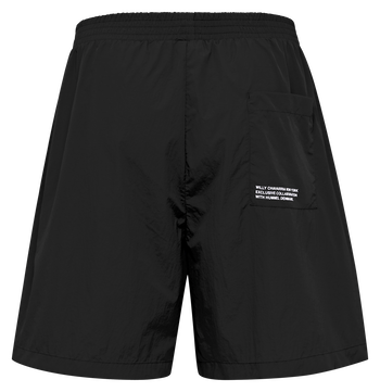 hmlWILLY HUSTLER SHORTS, BLACK, packshot