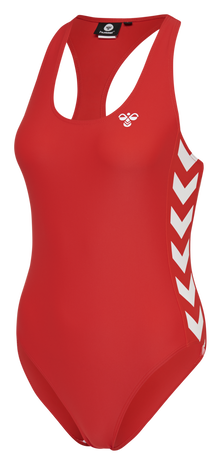 hmlDONNA SWIMSUIT, HIGH RISK RED, packshot