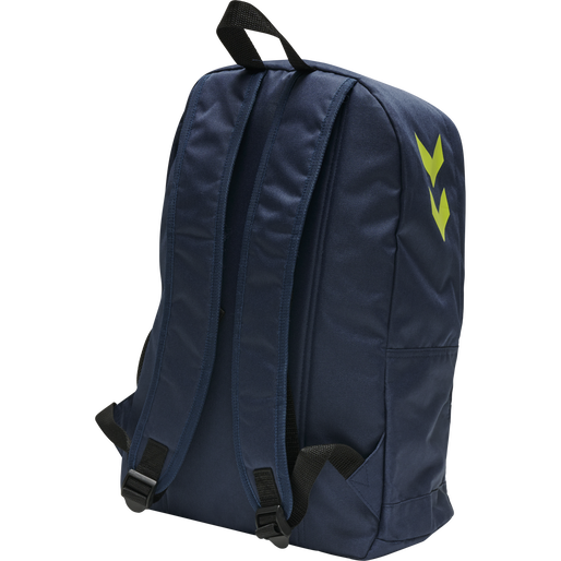 CORE BACK PACK, DARK DENIM/LIME PUNCH, packshot