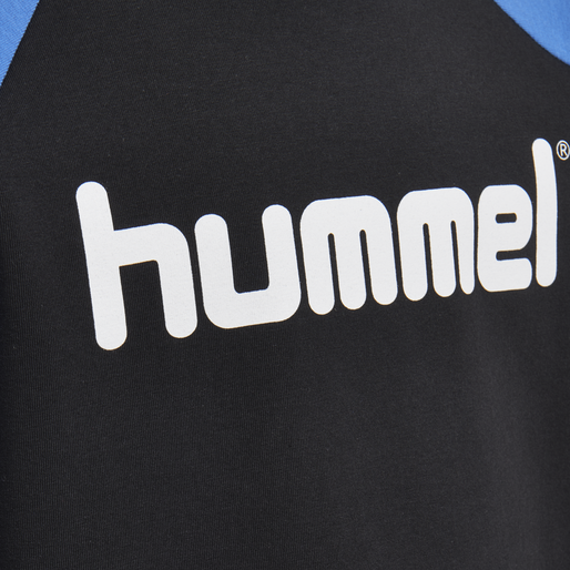 HMLBOYS T-SHIRT L/S, NEBULAS BLUE, packshot
