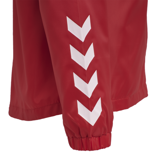 hmlPROMO RAIN JACKET KIDS, TRUE RED, packshot