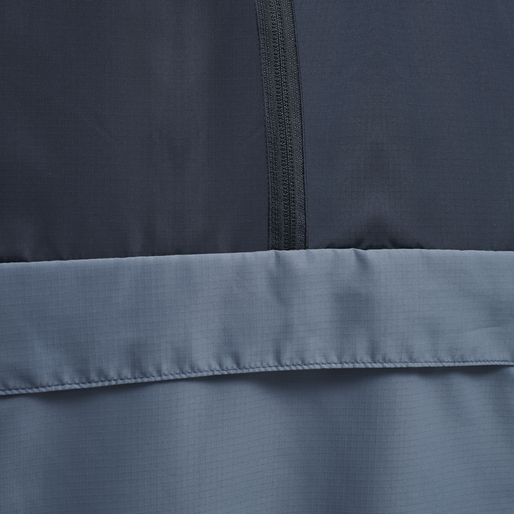 hmlALVIN HALF ZIP JACKET, CHINA BLUE, packshot