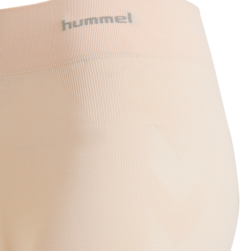 hmlCI SEAMLESS CYCLING SHORTS, CLOUD PINK MELANGE, packshot
