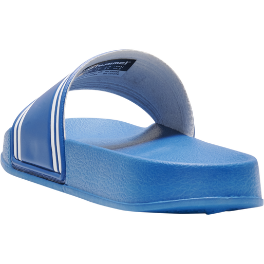 POOL SLIDE RETRO, MYKONOS BLUE, packshot