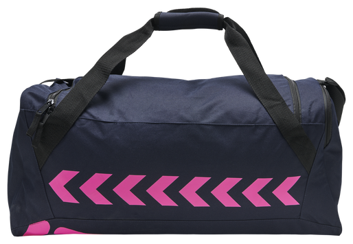 hmlACTION SPORTS BAG, MARINE/DIVA PINK, packshot