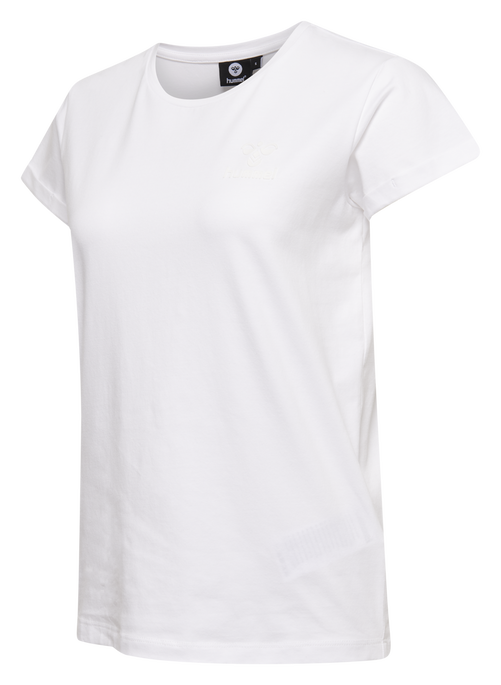 HMLISOBELLA T-SHIRT S/S, WHITE, packshot