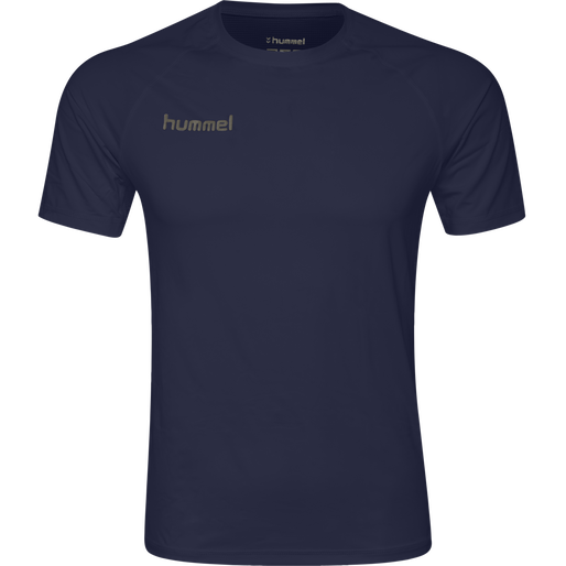 HUMMEL FIRST PERFORMANCE JERSEY S/S, MARINE, packshot