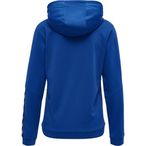 hmlAUTHENTIC POLY HOODIE WOMAN, TRUE BLUE, packshot