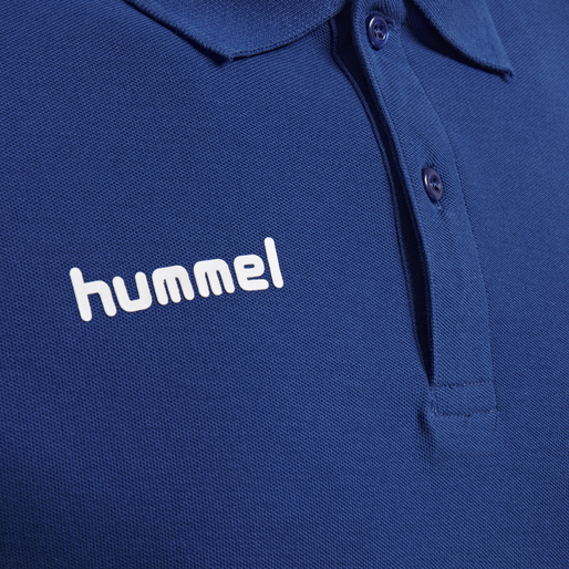 HUMMEL GO COTTON POLO, TRUE BLUE, packshot
