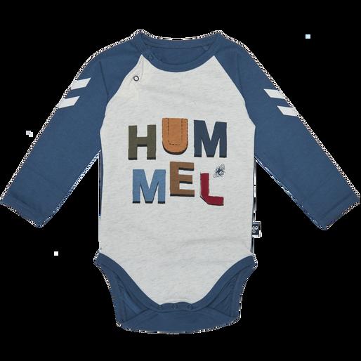 HMLLUIS BODY L/S, BIRCH MELANGE, packshot
