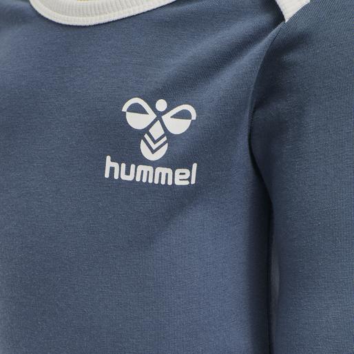 hmlMAUILINO BODY L/S, CHINA BLUE, packshot