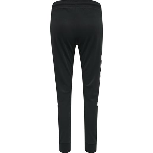 hmlLEGACY POLY WOMAN REGULAR PANTS, BLACK, packshot