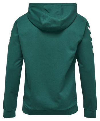 CORE COTTON HOODIE, EVERGREEN, packshot
