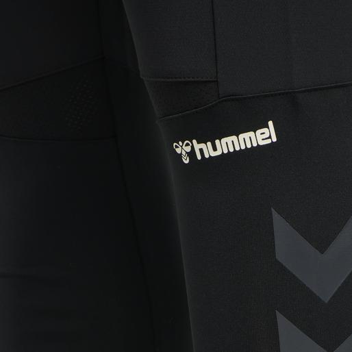 hmlRUFUS TAPERED PANTS, BLACK, packshot