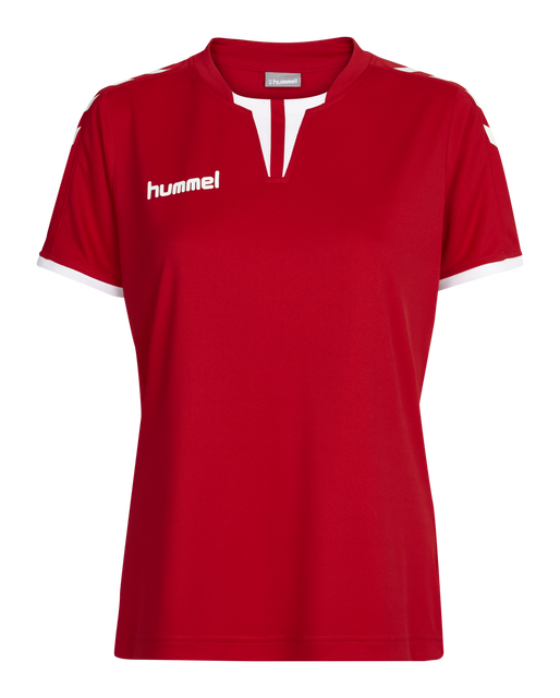 CORE WOMENS SS JERSEY, TRUE RED PR, packshot