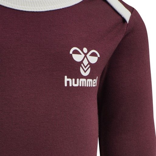 hmlMAUILINO BODY L/S, CHOCOLATE TRUFFLE , packshot