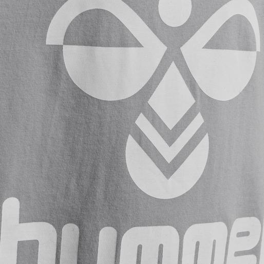 hmlTRES T-SHIRT S/S, GREY MELANGE, packshot