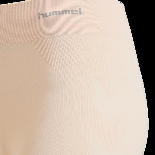 hmlCI SEAMLESS CYCLING SHORTS, CLOUD PINK MELANGE, packshot