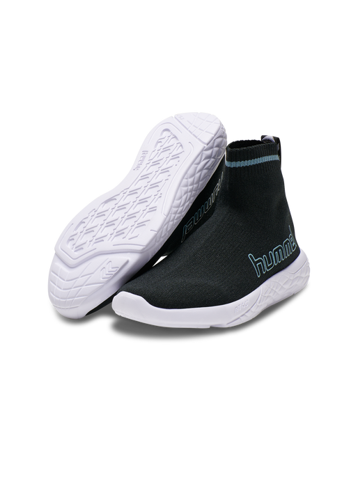 TERRAFLY SOCK RUNNER JR, BLACK, packshot