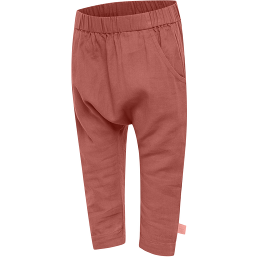 hmlFREY PANTS, REDWOOD, packshot