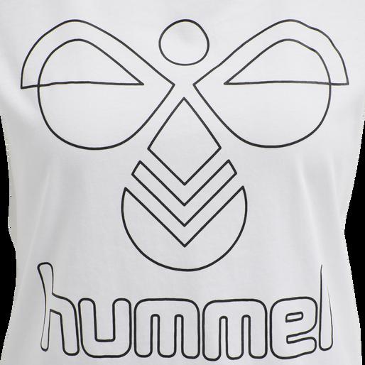 hmlSENGA T-SHIRT S/S, WHITE, packshot