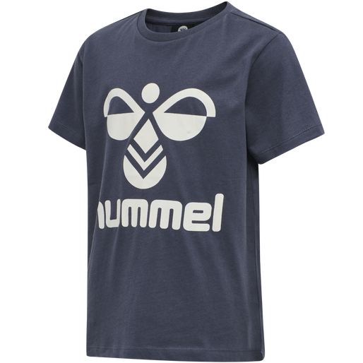 hmlTRES TEE SHIRT S/S, OMBRE BLUE , packshot