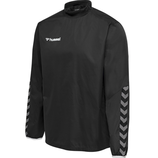 hmlAUTHENTIC WIND BREAKER, BLACK/WHITE, packshot
